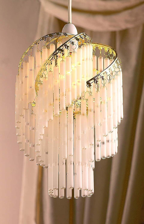 GL42G 23 cm marco de varilla de vidrio lámpara de techo ...