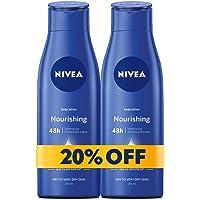 NIVEA, Body Care, Body Lotion, Nourishing, Dry to Very Dry Skin, 2 x 250 ml