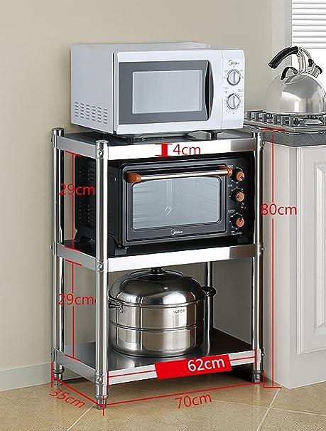 Estantes de cocina Estante de cocina Estante de almacenamiento de ...