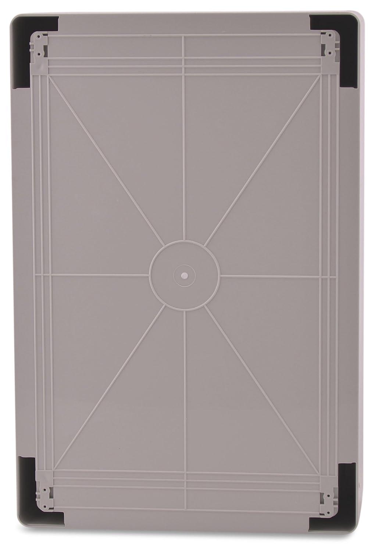 BOXEXPERT Bo/îtier darmoire murale 400x600x200mm IP 65 gris transparent RAL7035 Bo/îtier de distribution darmoire /électrique