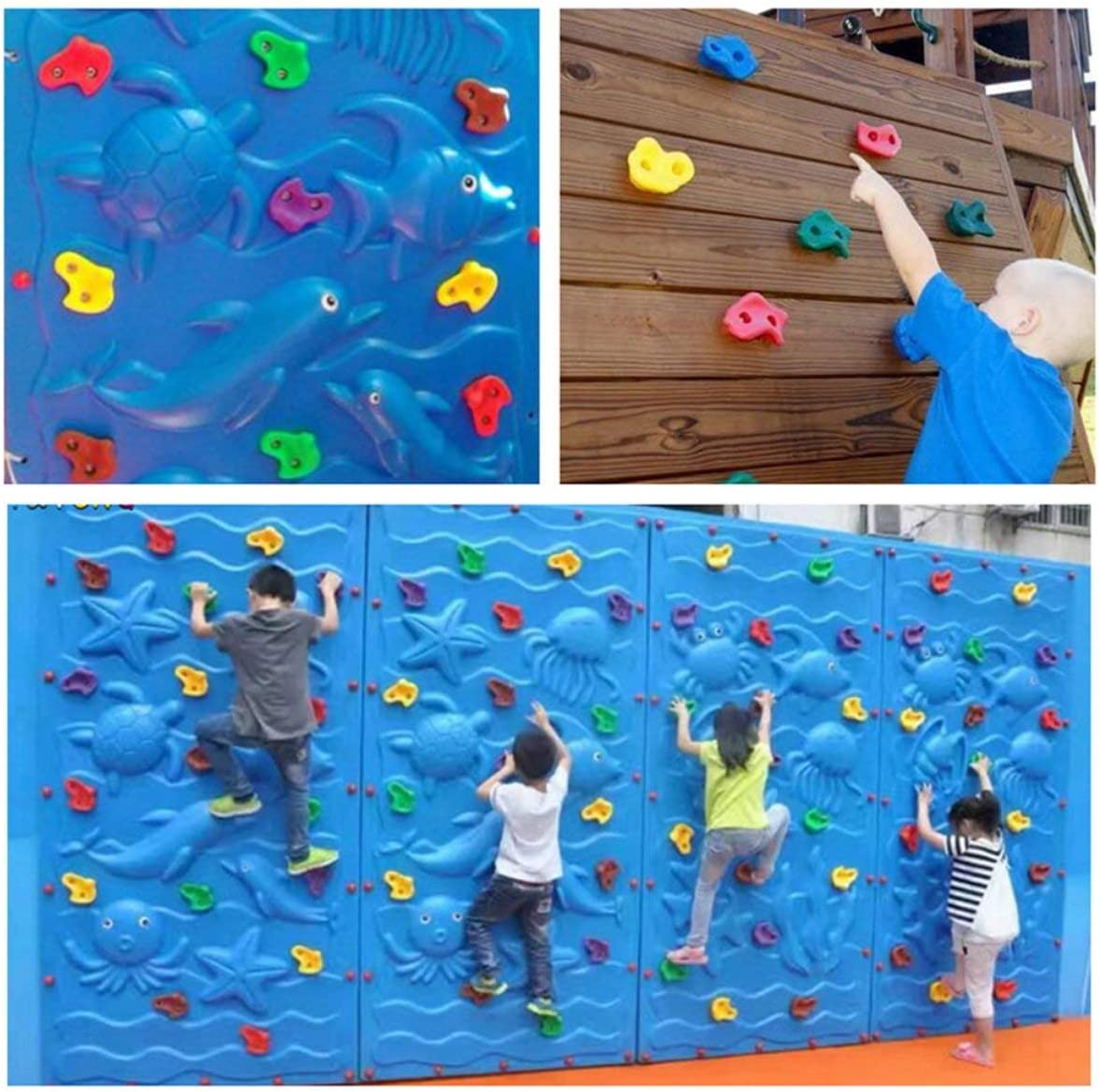 FHJZXDGHNXFGH Juegos de Escalada en Roca para niños Piedras ...