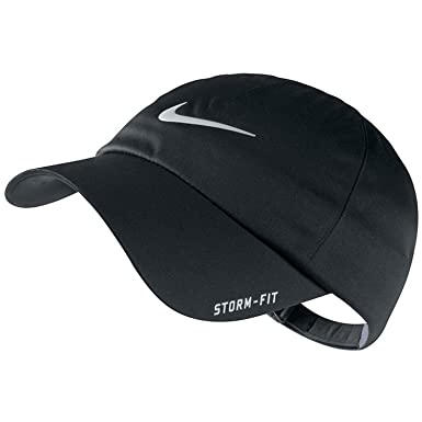 15fa5735272 Nike Golf 2013 Men s Storm-Fit Dri-Fit Adjustable Rain Cap - Black ...
