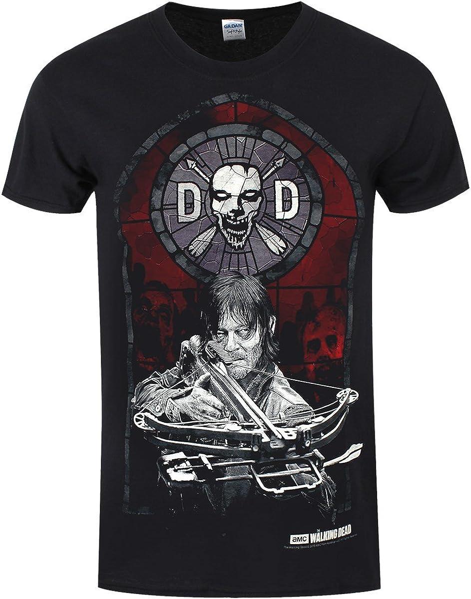 The Walking Dead - Camiseta - Estampado - para hombre