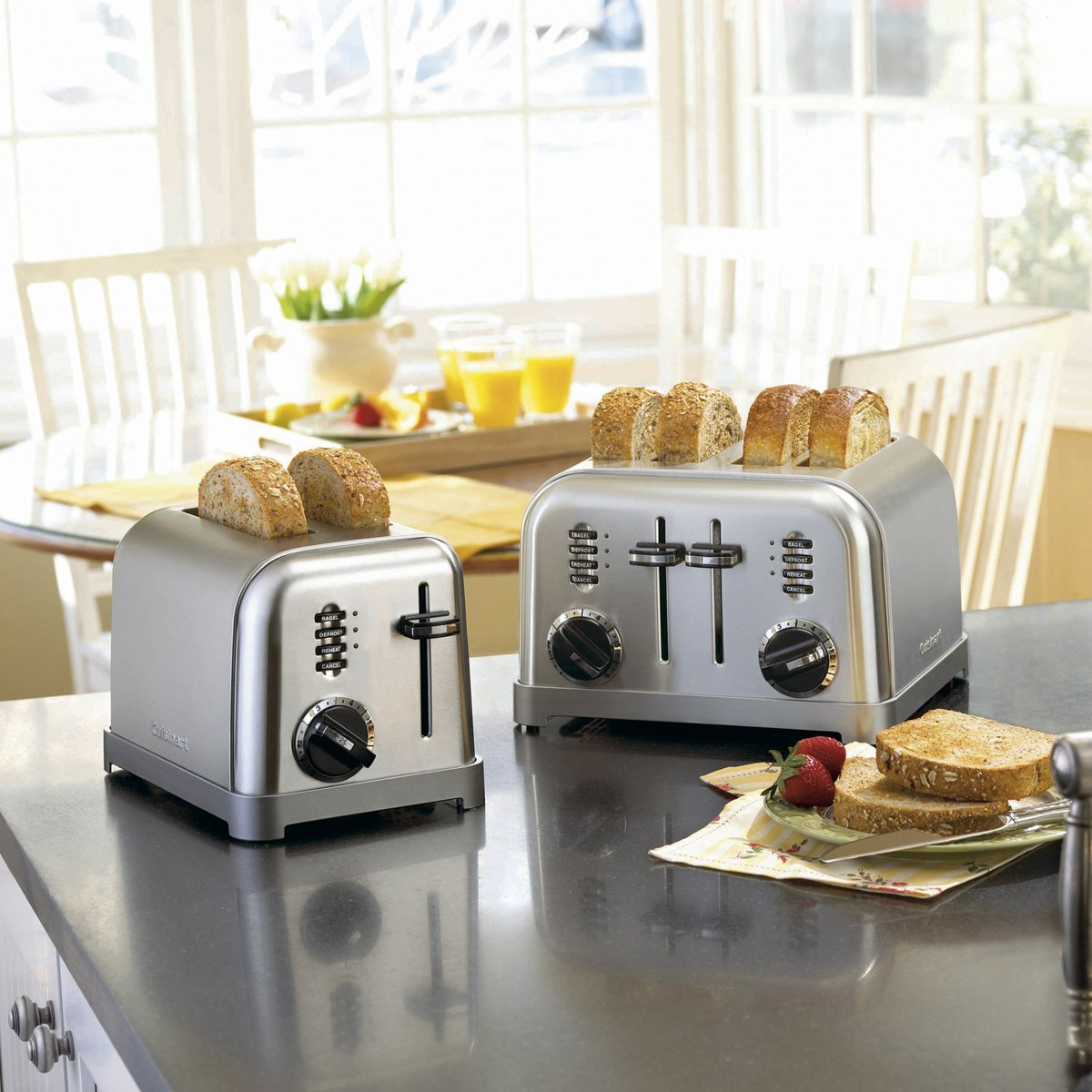 slice red metal classic neweggflash product cuisinart toaster com cpt