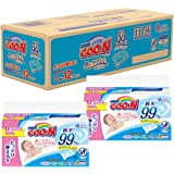 Goo.N Baby  Wipes skin-friendly  (Refill Pack of 70 sheets x 12)