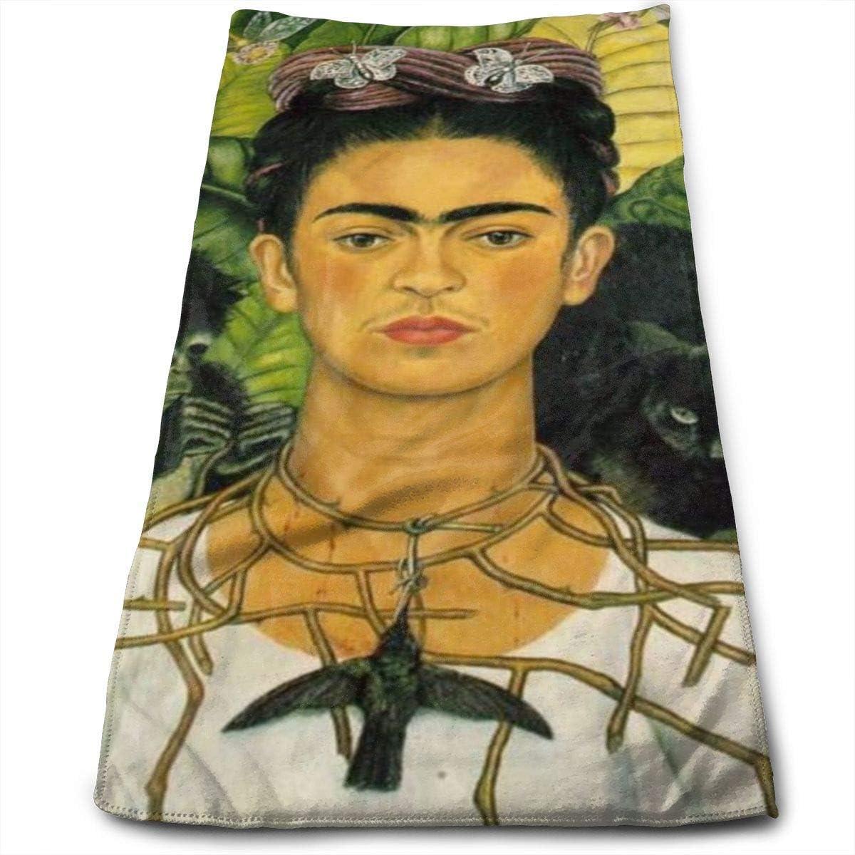 Sunny R Frida Kahlo Gesichtshandt/ücher Mikrofaser Sport Handt/ücher f/ür Sport Haarpflege Kosmetik Reinigung M/öbel Make-up Entferner T/ücher schnell trocknend 30,5 x 69,8 cm
