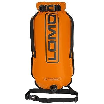 Lomo – Flotador de natación de bolsa seca - Naranja: Amazon.es: Deportes y aire libre