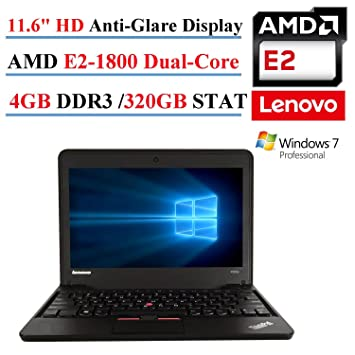 Lenovo ThinkPad X131e AMD Graphic Windows Vista 64-BIT