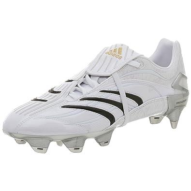 4a2bb4a752a4 adidas Men's Predator Absolute X-TRX SG Soccer Shoe,Run White/Black,