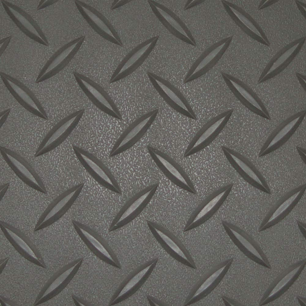 RoughTex Diamond Deck 84515 Black Textured Roll Out Garage Floor Mat Various Sizes Available