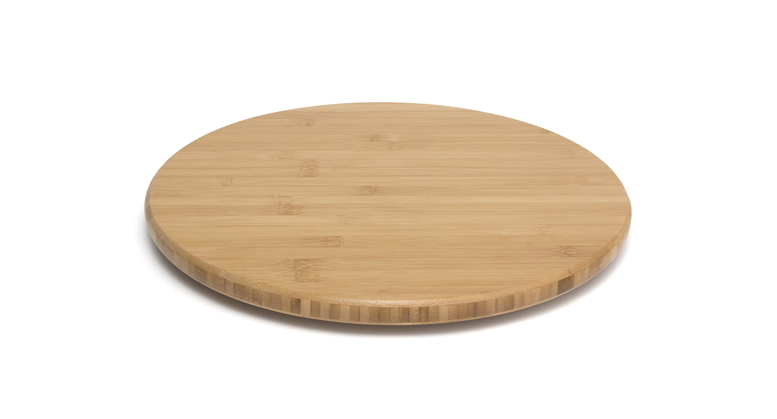 Lipper International 8361 Bamboo Wood 16'' Lazy Susan Kitchen Turntable by Lipper International