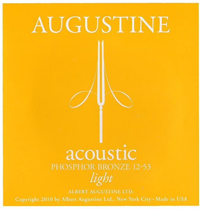 Augustine Acoustic Guitar Strings (HLACOUSTICLIGHT)