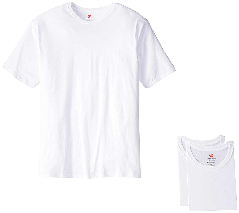 Hanes Men's Tall Man Crew T-Shirt (Pack of 3) Hanes Men's Basic Bottoms 114HCT