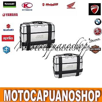 Givi 2 maletas laterales Monokey trk46 trk33 46 33 L Trekker: Amazon.es: Coche y moto
