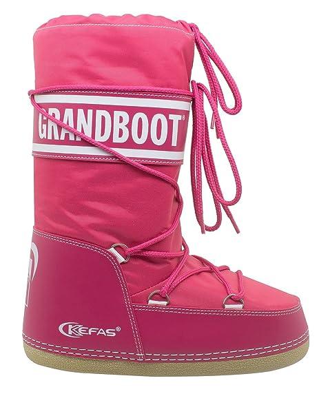 a basso prezzo 633f9 d0059 Kefas - Grandboot - Doposci Boot Uomo Donna Bambino - Fuxia - Taglia 26/28