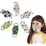 toataLOpen Protective Mouth Visor Face Cover Kids Children Cotton Cartoon Adjustable 5 Layers Anti Dustproof Mouth Pony**