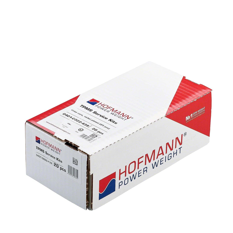 Hofmann Power Weight 500 St/ück Ventileinsatz Reifen vernickelt Ventileinsatz Auto Ventiladapter alle Fahrzeuge