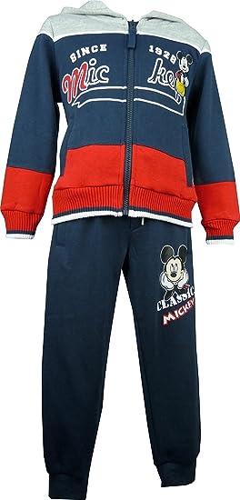 Niños Disney Mickey Mouse Chándal Azul Marino-4 Años / 104 cm ...