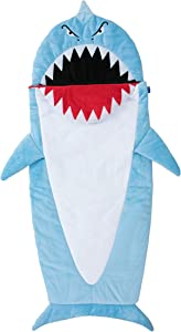 Bixbee Kids Sleeping Bag, Children's Nap Mat, Shark