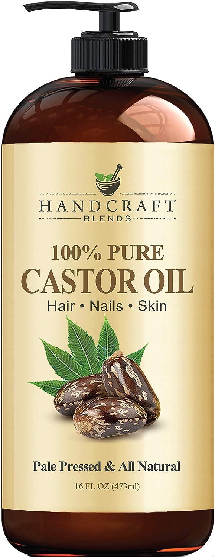 Handcraft Castor oil - Best castor oil brand for hair