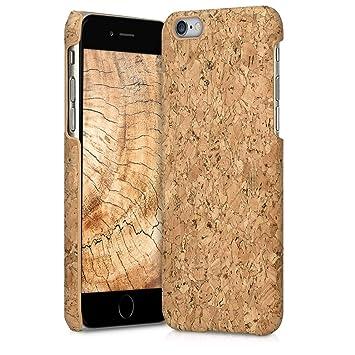 kwmobile Funda para Apple iPhone 6 / 6S - Carcasa Protectora de [Corcho] para teléfono móvil - Cover [Trasero] rígido y Resistente