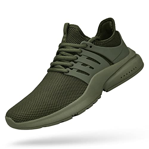 6e281ac4779d1 ZOCAVIA Men's Running Shoes Lightweight Breathable Tennis Gym Sneakers