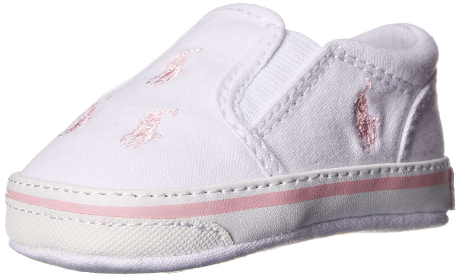 6859b6388 Ralph Lauren Layette Bal Harbour Repeat Slip On (Infant Toddler) Bal ...