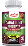 Premium Caralluma Fimbriata - Leaf Extract 1200mg - Best Weight Loss Pills | Lose Weight Fast for Men and Women | Fat & Carb Blocker | Build Lean Muscle Fast | Diet Supplements - 60 Count