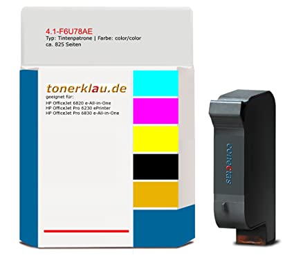 Cartucho de tinta 4.1 de f6u78ae compatible con HP f6u78ae ...