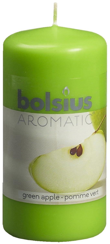 Ivyline Bolsius - Vela perfumada (12 x 6 cm, aroma de manzana verde) 103626640185