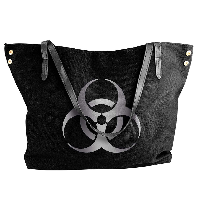 Resident Evil Biohazard Sym Platinum Logo Women Shoulder Bags