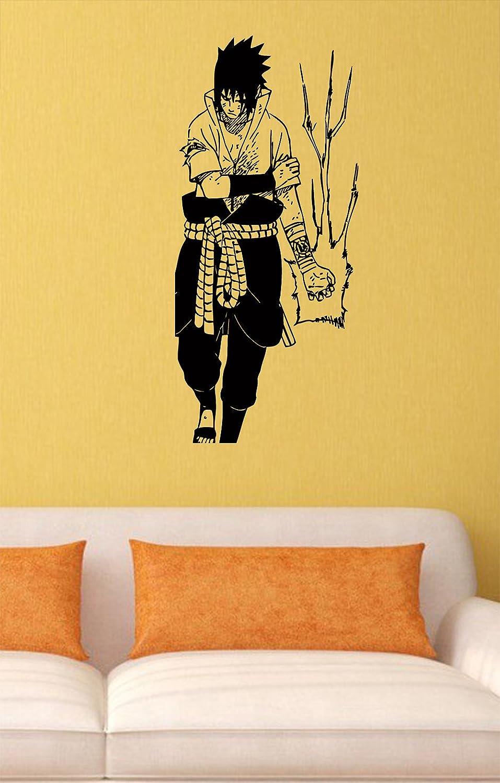 Amazon.com: Uchiha Sasuke Vinyl Wall Decals Chidori Ninja ...