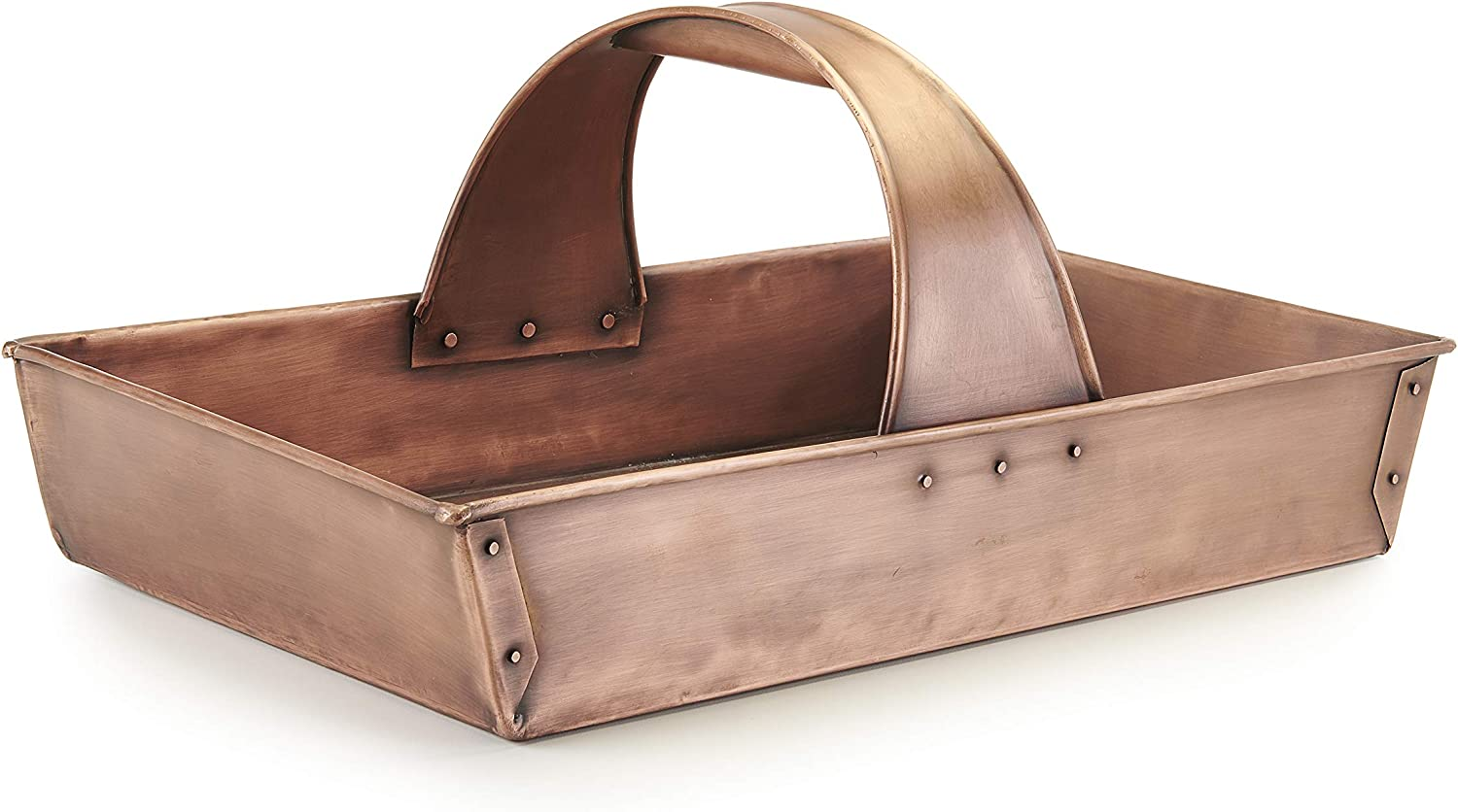 Good Directions TRUG101 Garden Basket Trug, Pure Copper