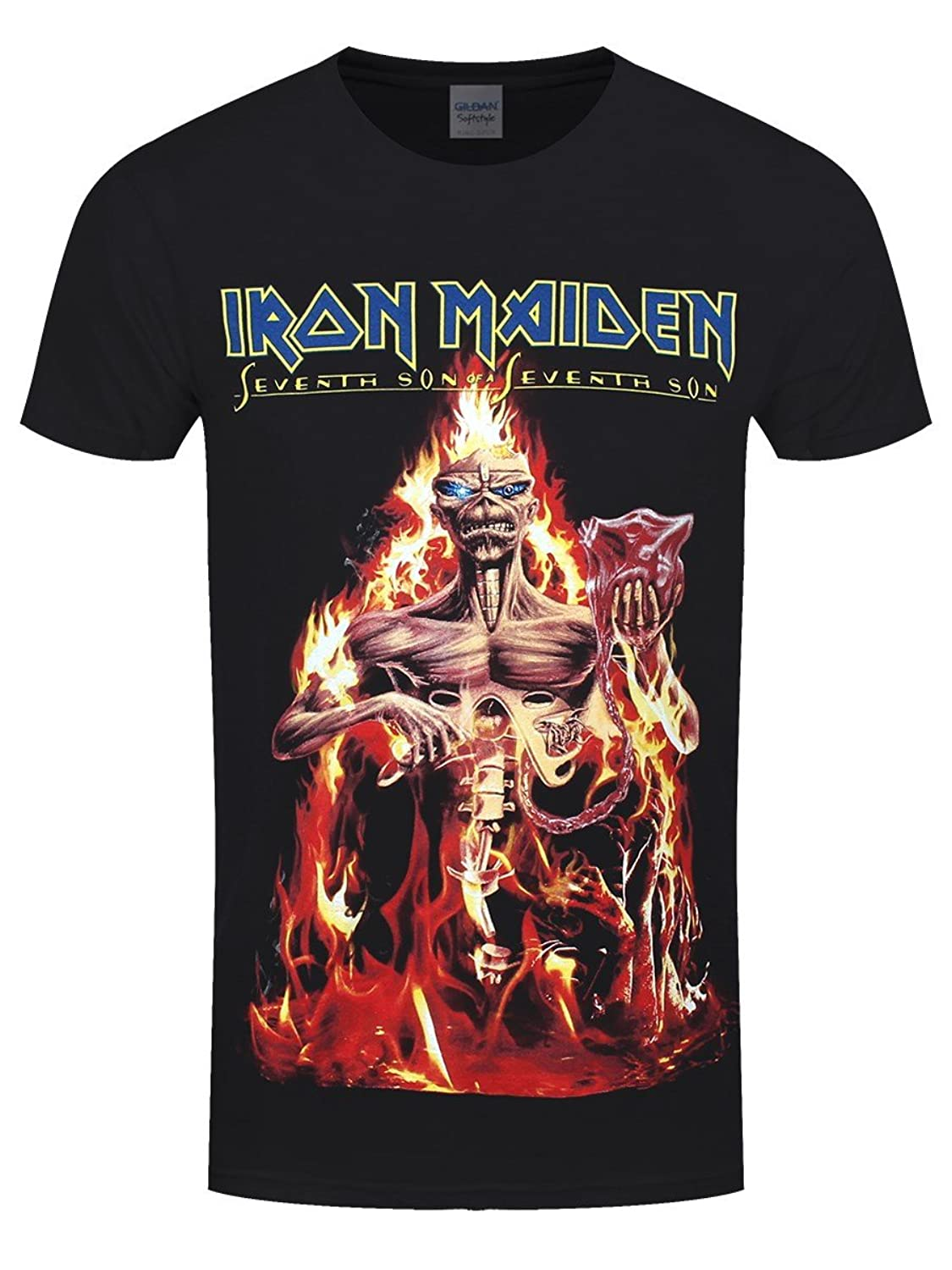 ea9eae7a1548 Top21: Unknown Men\'s Iron Maiden Seventh Son T-Shirt
