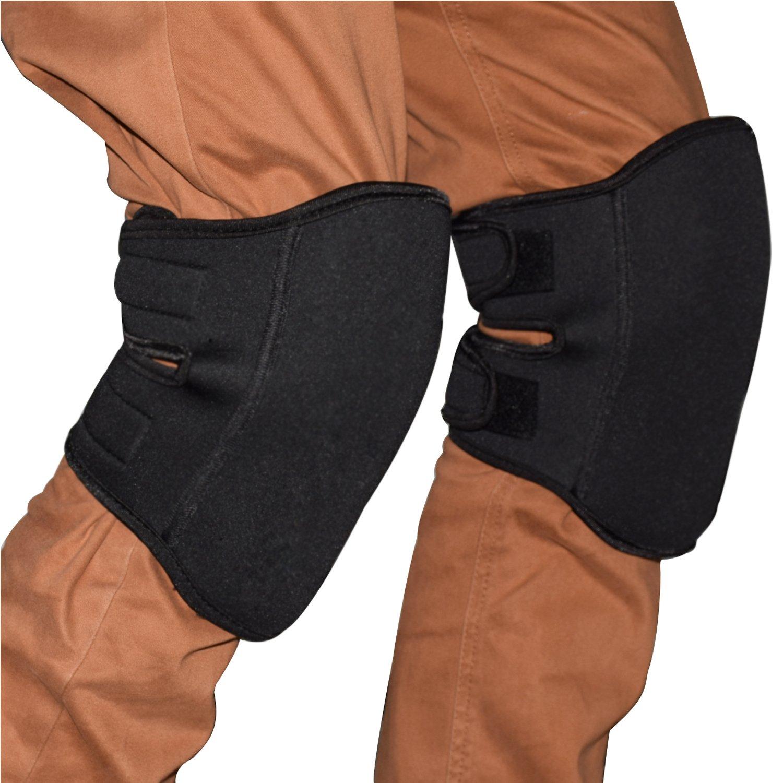 Yamay 膝当て 膝パッド ニーパッド 膝プロテクター 作業用 2個入り ブラック