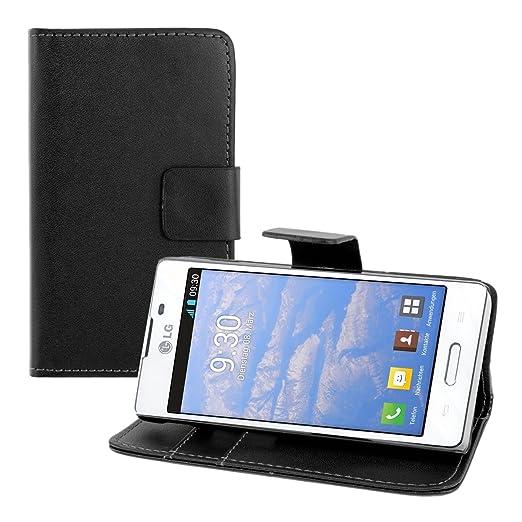 11 opinioni per kwmobile Custodia portafoglio per LG Optimus L5 II- Cover a libro in simil pelle