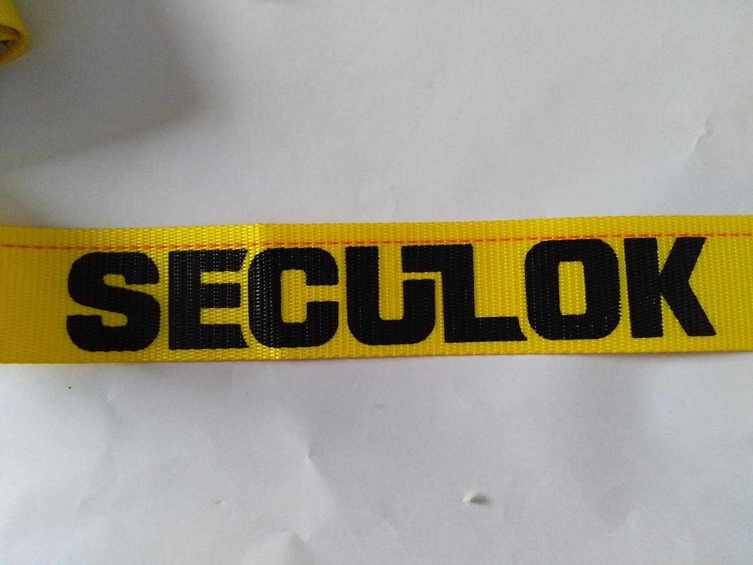 Seculok 2'' x 12' Logistic Ratchet Cargo Strap with E/A Series Spring Fitting by SECULOK (Image #2)