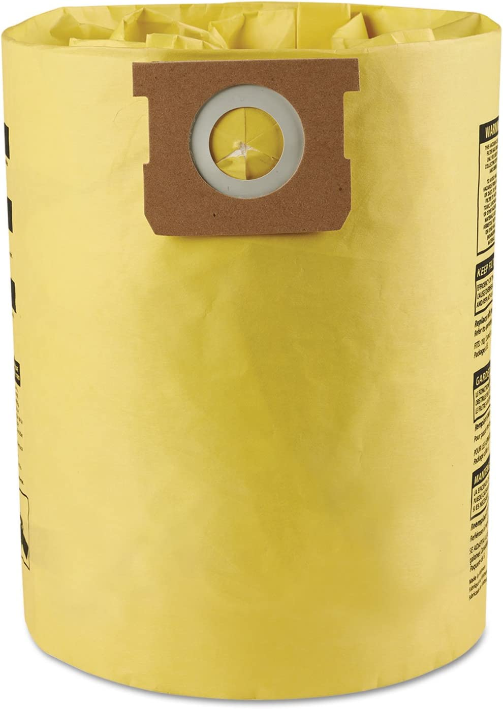 Shop-Vac 9067200 High Efficiency Collection Filter Bags 10 14gal 2/Pack