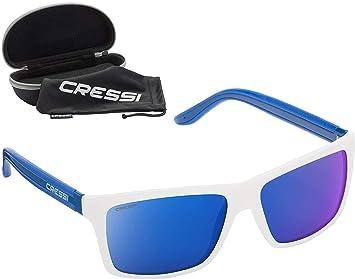 96344478ca Cressi Rio Sunglasses-Premium Lunettes de Soleil Polarisées 100% Anti UV  avec étui Rigide