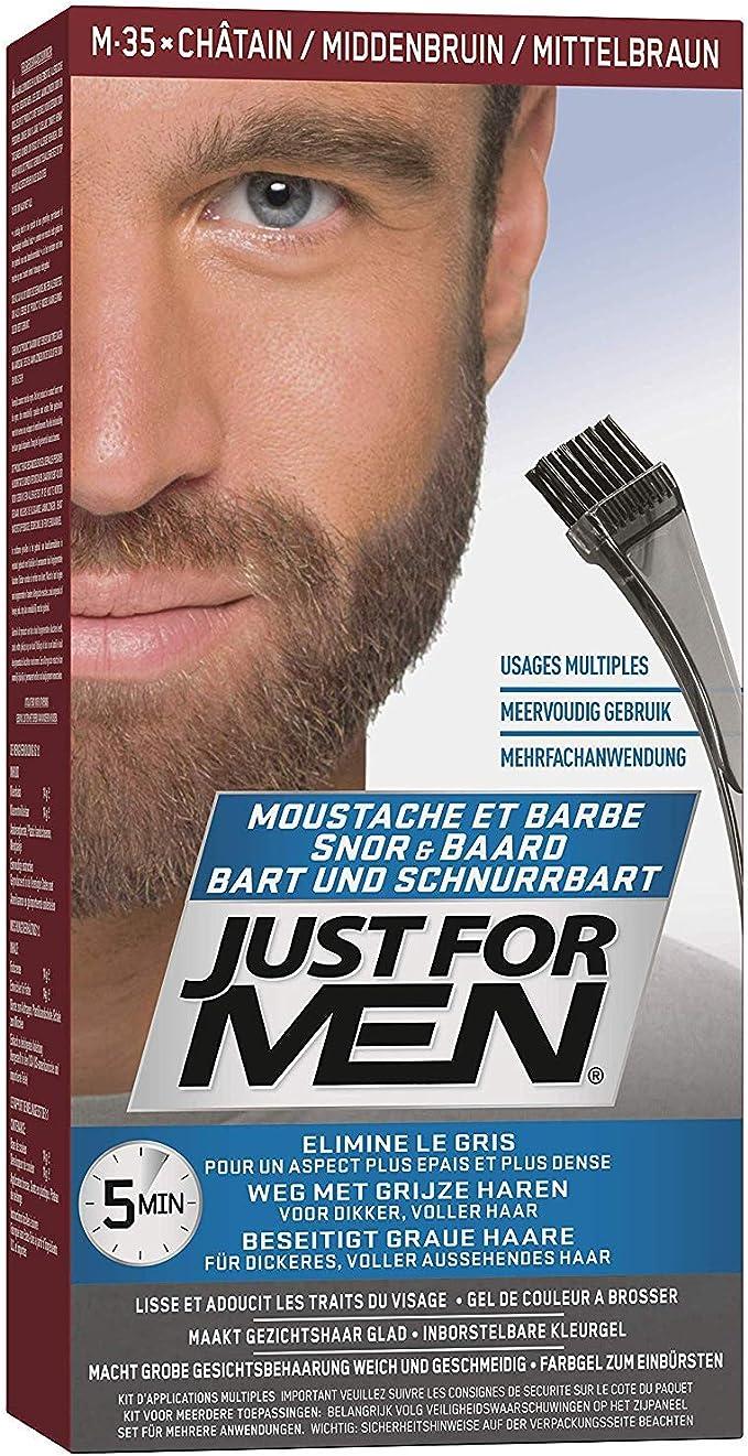 JUST FOR MEN MOUSTACHE [MEDIUM BROWN]