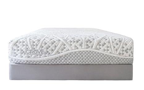 Amazon.com: Crave Lujo firme Hybrid colchón | memoria espuma ...