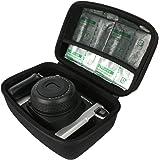 Khanka EVA Hart Reise tragen Fall Tasche Case Für Fujifilm Instax 210 Instant Photo Kameras Sofortbildkamera / Fujifilm 16445795 Instax Wide 300. Fits Fujifilm Instax Wide Film (2-er Pack) - Schwarz