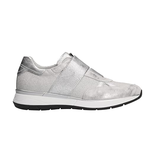 NERO GIARDINI Sneakers slip on acciaio 5250 scarpe donna mod. P805250D