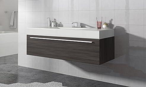 Attractive Badezimmer Badmöbel Garcia 120 Cm Eiche Dunkel   Unterschrank Schrank  Waschbecken Waschtisch