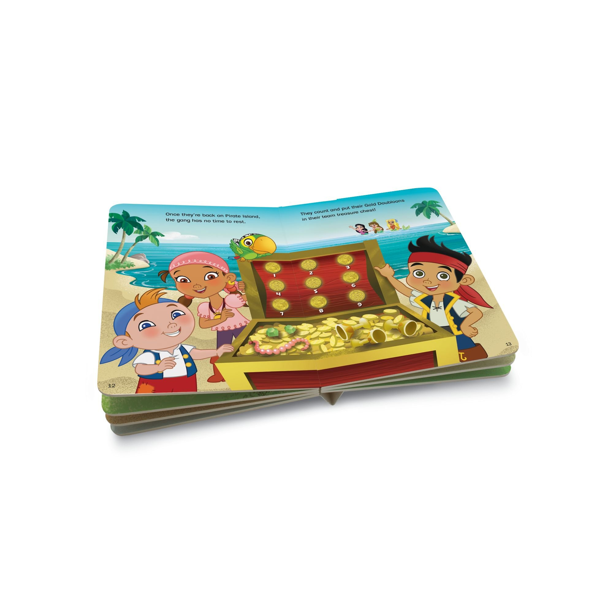 LeapFrog LeapReader Junior Book: Disney's Jake and the Never Land Pirates (works with Tag Junior) by LeapFrog (Image #6)