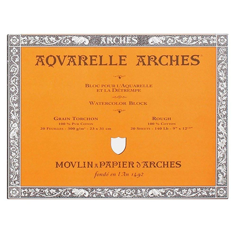 Arches Block 140Lb Rough 9X12 200177165