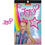 Jojo Siwa 4 Sheet Foil Cover Sticker Pad, Decorative, Collectible 200+ Stickers for Scrapbooking, Party Favors, Goodie…