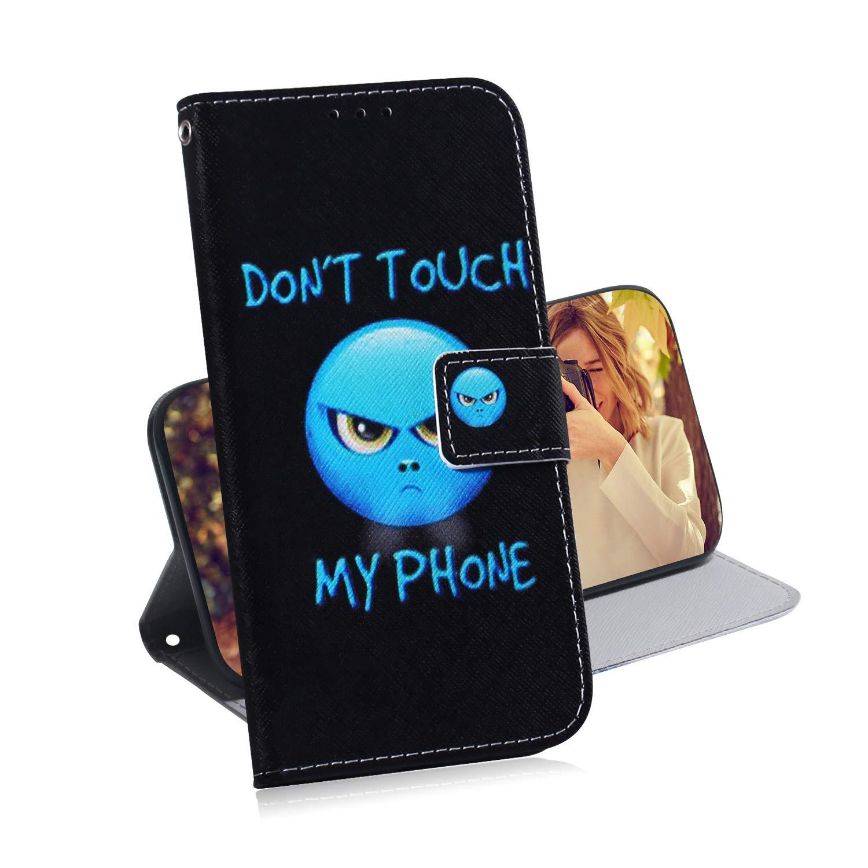 H/ülle Leder NEXCURIO Galaxy J6+ Handyh/ülle Tasche Leder Flip Case Brieftasche Etui mit Kartenfach Sto/ßfest Kratzfest Schutzh/ülle f/ür Samsung Galaxy J6 Plus NETXI140082#2 J6Plus