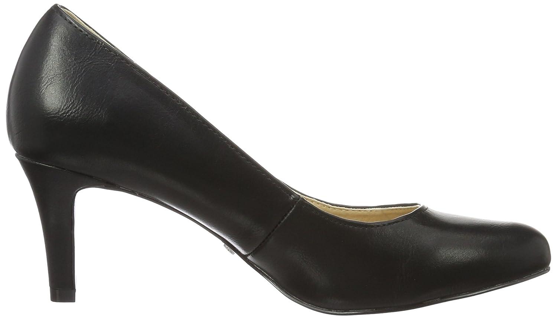 Buffalo Women's C404a-1 P1735a Pu Ankle Strap Pumps: Amazon.co.uk: Shoes &  Bags