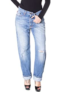 f6a9ce282010 Please Frauen Jeans Baggy Baggy Zerrissenen P18 l grau  Amazon.de ...